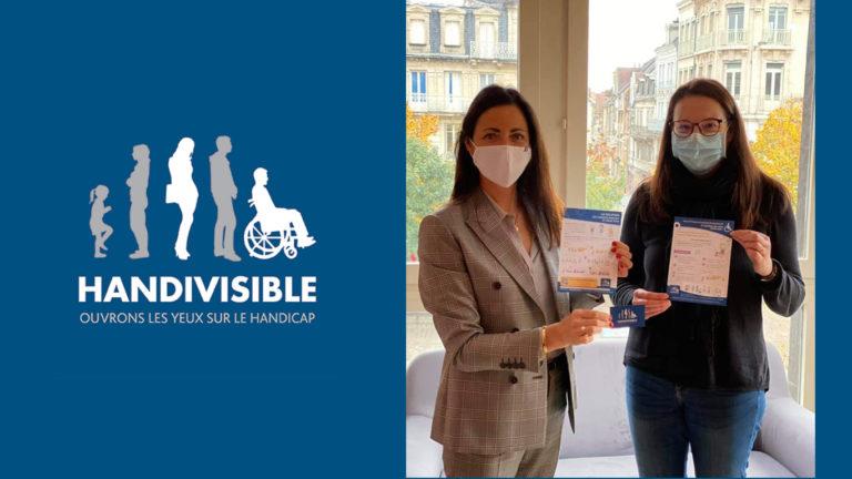 photo handivisible avec députée mme valérie bazin malgras