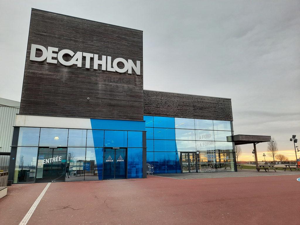 Decathlon équipé handivisible