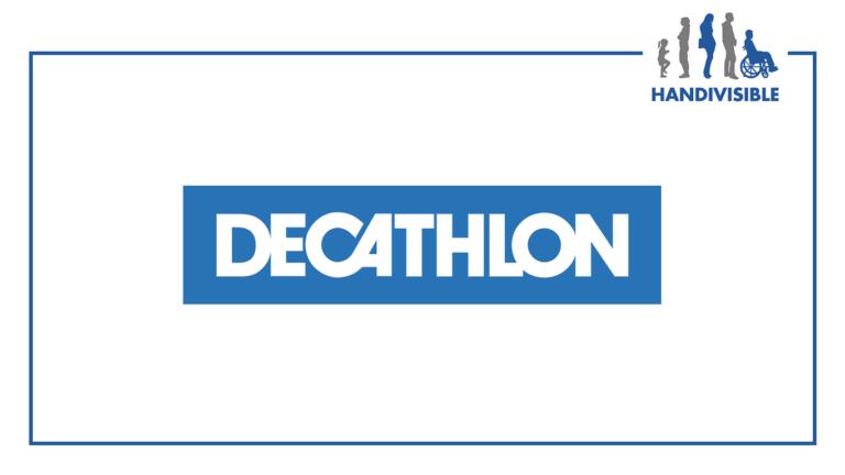 logo decathlon équipé handivisible