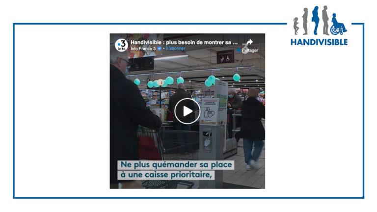 reportage handivisible sur france3